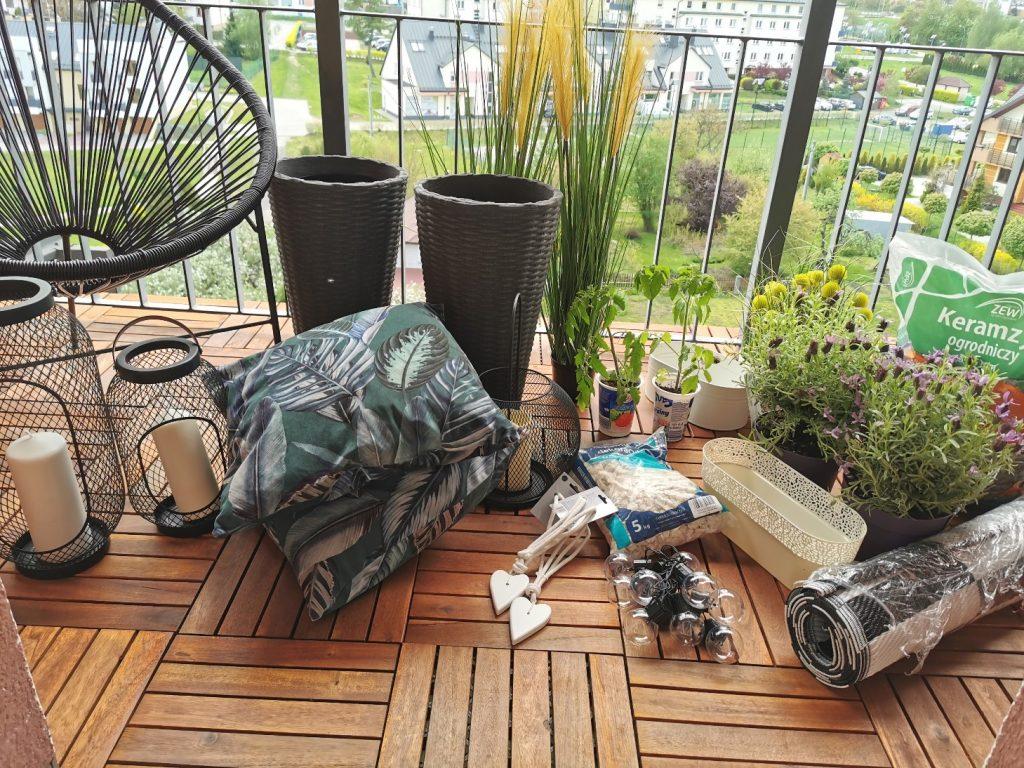 produkty do aranżacji balkonu