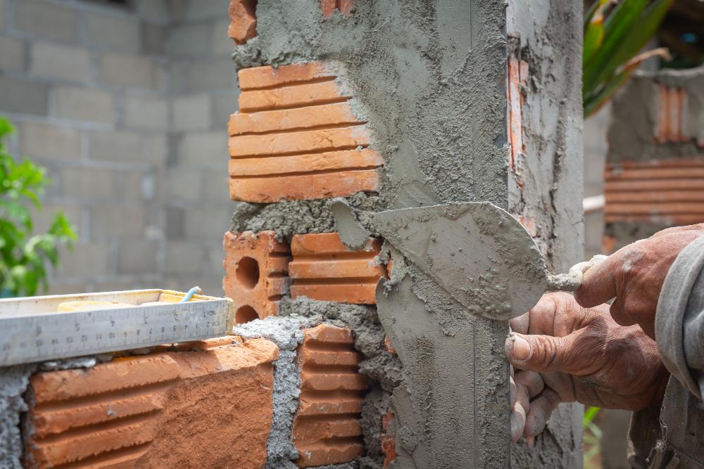 stawianie ściany