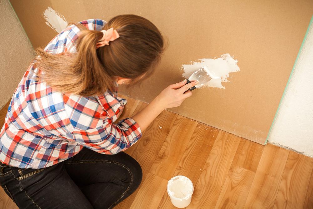 Bezpyłowe szpachlowanie ścian