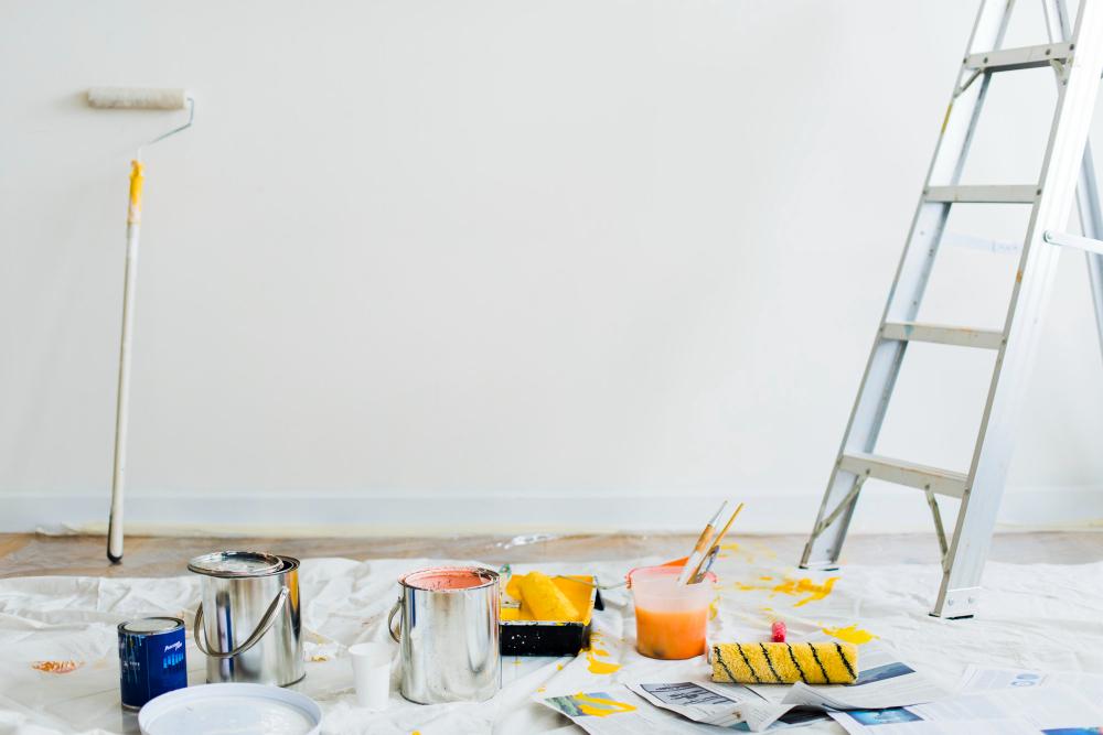 Jak długo schnie farba? Zasady dobrego malowania ścian
