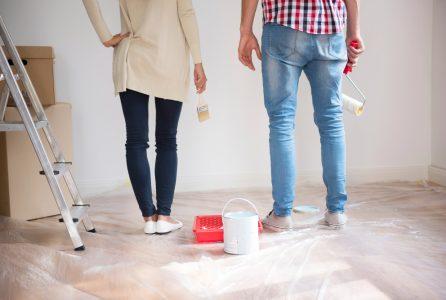 Najczęściej popełniane błędy podczas malowania domu